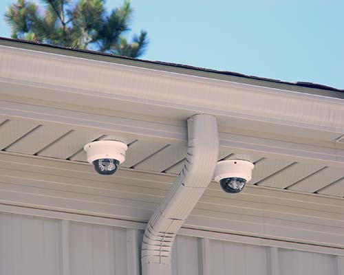 security cameras at Mega Storage